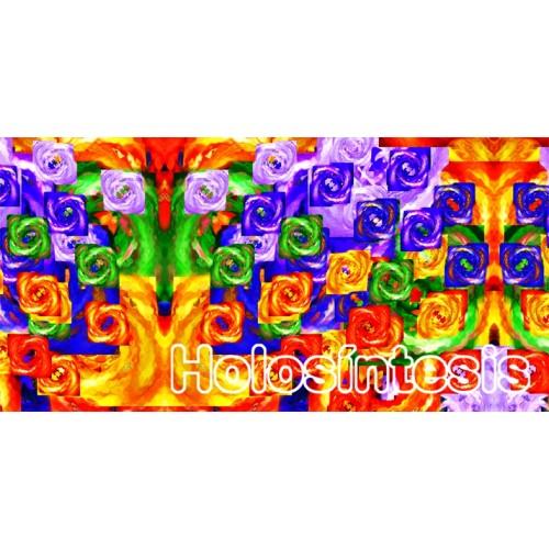 Banda de tela multiusos Chakras - Arco Iris