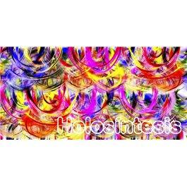 Banda de tela multiusos Fluir con la vida