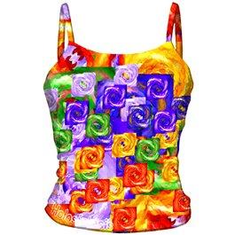 Camisetas de tirantes Chakras - Arco Iris