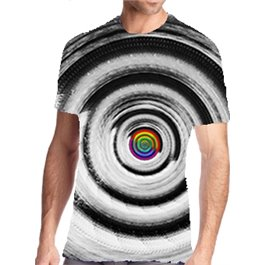 Camisetas técnicas de hombre Materia & espíritu