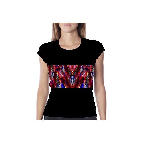 Camisetas técnicas de mujer s Sistema circulatorio & nervioso