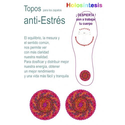 Topos para los zapatos Anti estrés