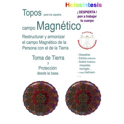 Topos para los zapatos Campo magnético