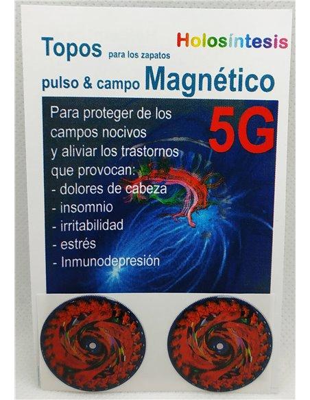Topos para los zapatos 5G Pulso magnético & Campo magnético