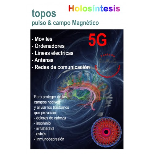 Topos 5G Pulso magnético & Campo magnético