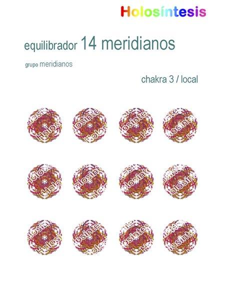 Holopuntos 14 meridianos