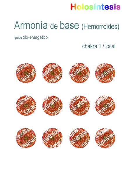 Holopuntos Armonia de base (hemorroides)
