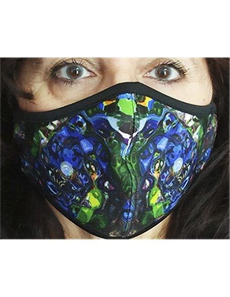 Mascarillas de neopreno reutilizable CLASSIC Azul