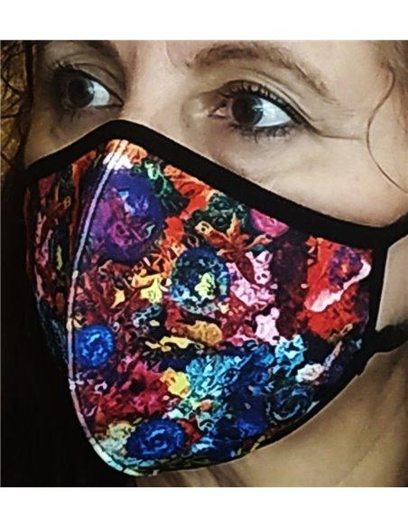 Mascarillas de neopreno reutilizable REVERSIBLE Colors