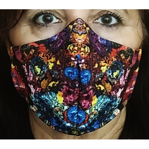 Mascarillas de neopreno reutilizable AJUSTABLE Colors