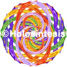 Armonizador de espacio Chakras - Arco Iris