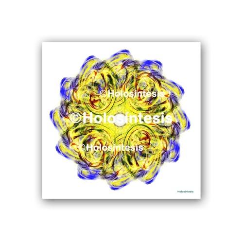 Lámina impresa en papel fotográfico 50x50 Envidia