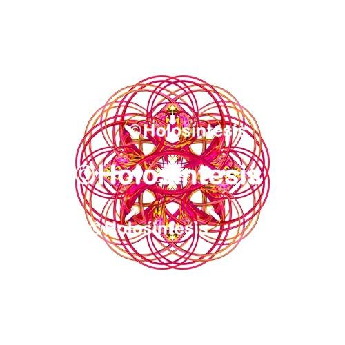 Medallones de resina Amor Unidad
