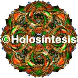 Medallones de resina campo Magnético