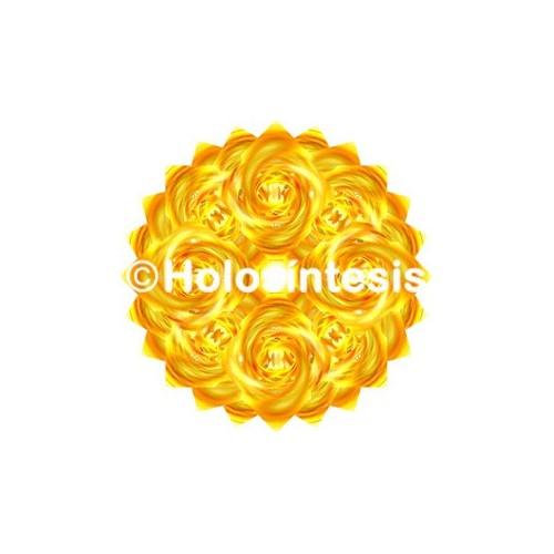 Medallones de resina Chakra 3 Manipura